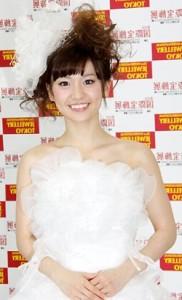 大島優子ドレス