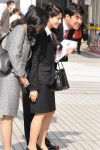 長島優美親子