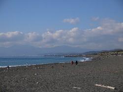 茅ヶ崎西浜海岸