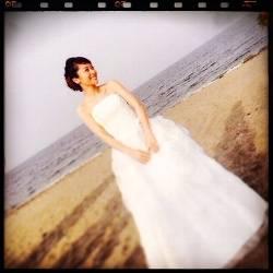 神戸蘭子結婚式2