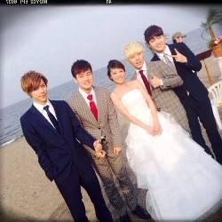 神戸蘭子結婚式3